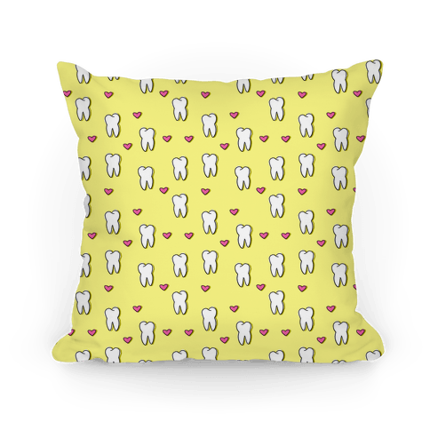 Tooth Pattern Pillow