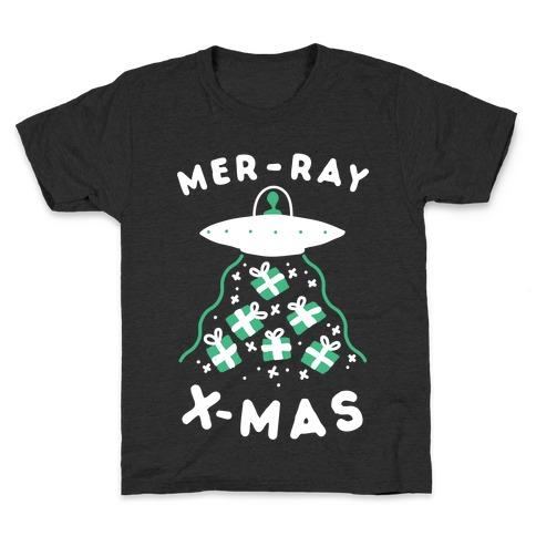 Mer-RAY X-mas Kids T-Shirt
