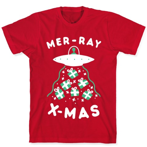 Mer-RAY X-mas T-Shirt