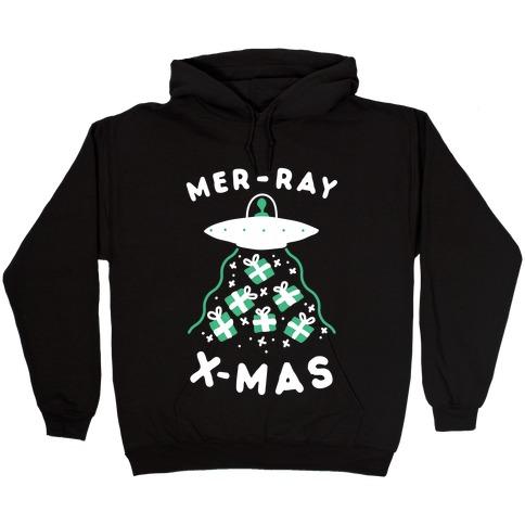 Mer-RAY X-mas Hooded Sweatshirt