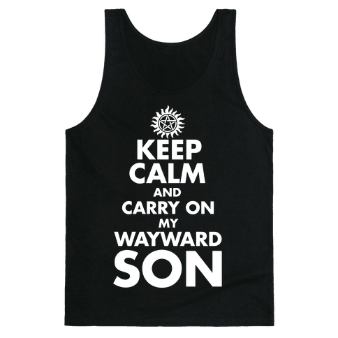 Carry On My Wayward Son Tank Top