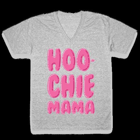 Hoochie Mama V-Neck Tee Shirt