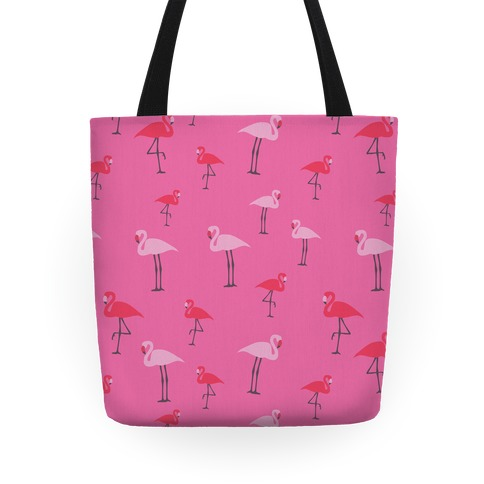 Flamingo Pattern Tote
