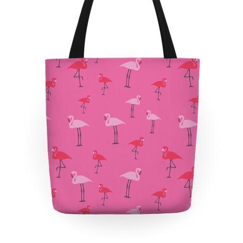 Flamingo Pattern Tote