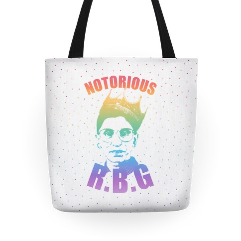 Rainbow Notorious R.B.G. Tote
