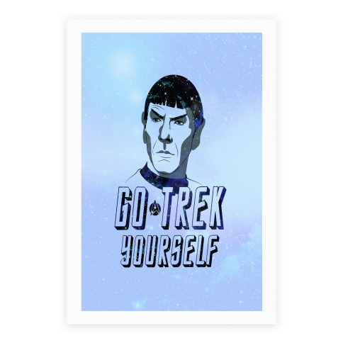 Go Trek Yourself Poster