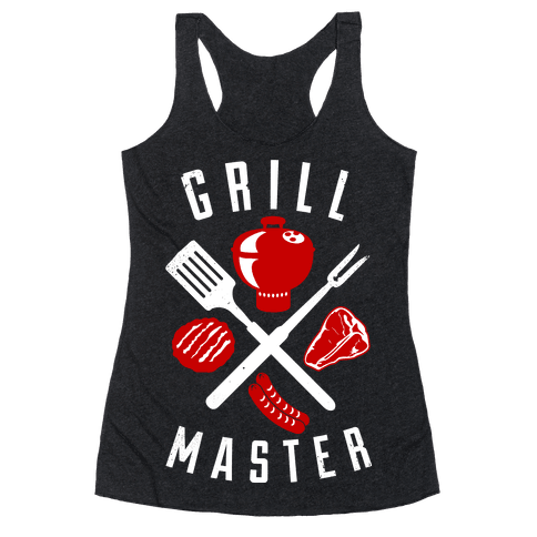 Grill Master Racerback Tank Top