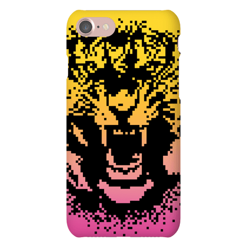 Pixel Tiger Phone Case