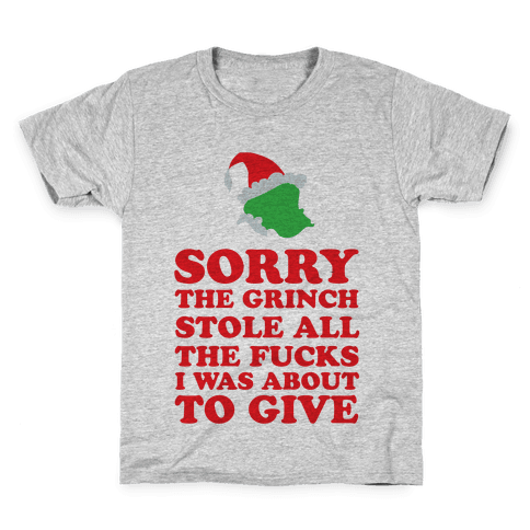 The Grinch Stole Kids T-Shirt