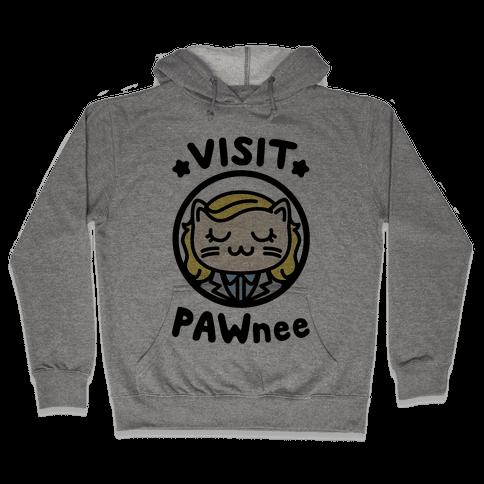 Visit Pawnee Hooded Sweatshirt
