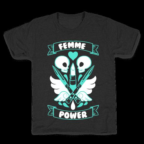 Femme Power Kids T-Shirt