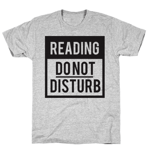 Do Not Disturb (Reading) Mens T-Shirt