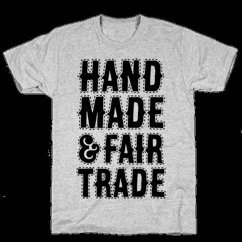Handmade & Fair Trade Mens T-Shirt