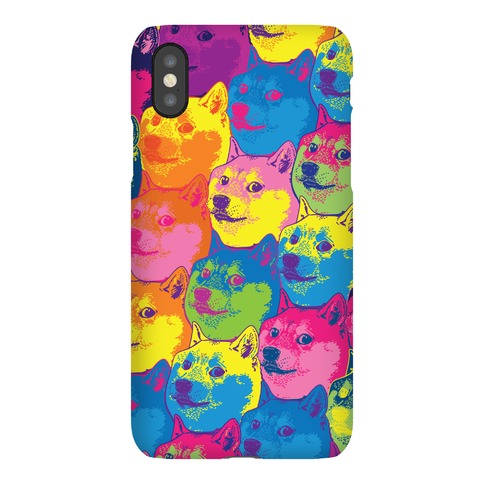 Pop Art Doge Phone Case