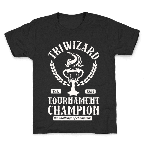 Triwizard Tournament Champion Kids T-Shirt