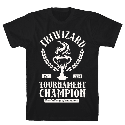 Triwizard Tournament Champion Mens T-Shirt