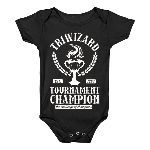 Triwizard Tournament Champion Baby Onesy