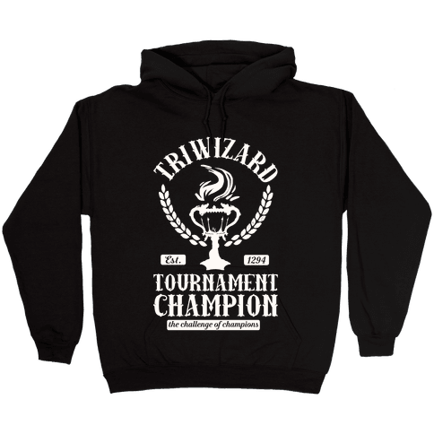 Triwizard Tournament Champion Hooded Sweatshirt