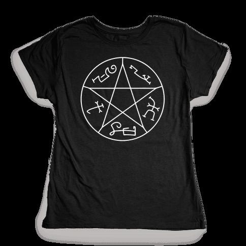 Devil's Trap Womens T-Shirt
