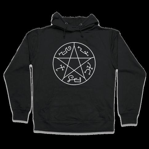 Devil's Trap Hooded Sweatshirt