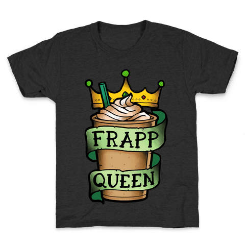 Frapp Queen Kids T-Shirt