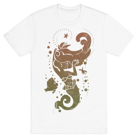 Natural Mermaid Princess Splash T-Shirt