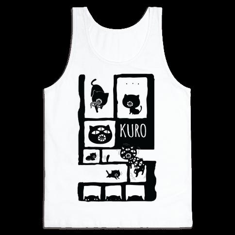 Kuro Cat Tank Top