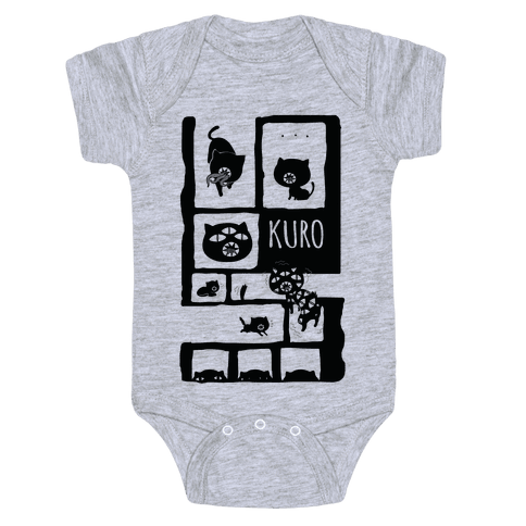 Kuro Cat Baby Onesy
