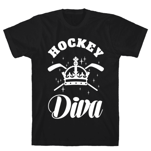 Hockey Diva Mens T-Shirt