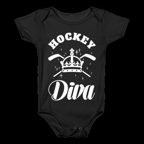 Hockey Diva Baby Onesy