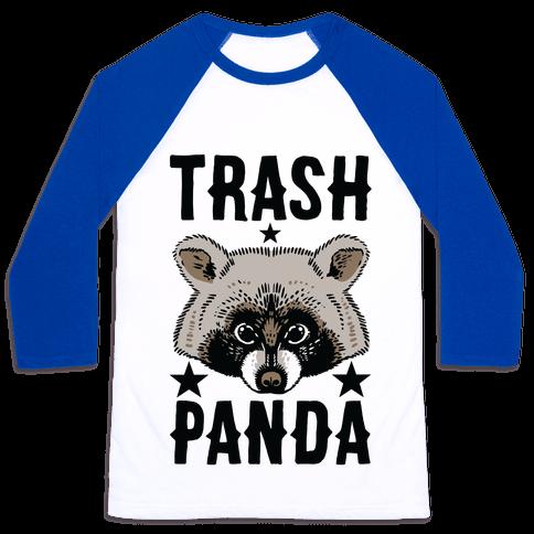 Trash Panda Baseball Tee