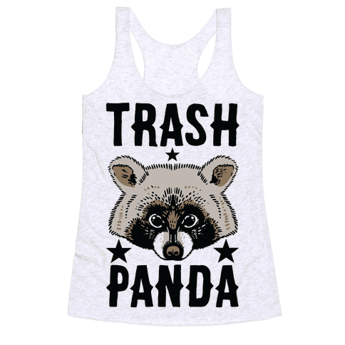 Trash Panda Racerback Tank Top