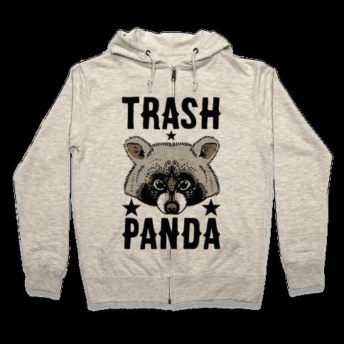 Trash Panda Zip Hoodie