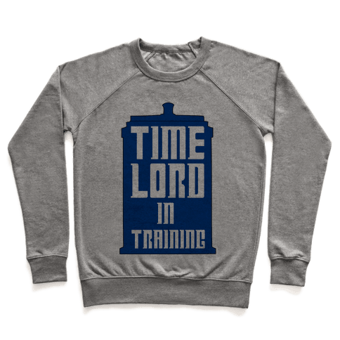 Timelord in Training Pullover