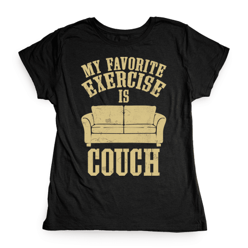 Favorite Exercise Womens T-Shirt