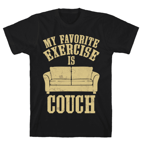 Favorite Exercise Mens T-Shirt