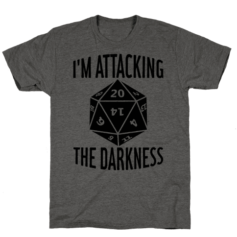 I'm Attacking The Darkness