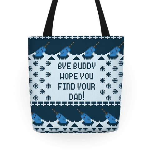 Ugly Sweater Mr. Narwhal Tote