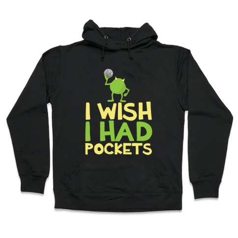 Monsters without Pockets Hooded Sweatshirt