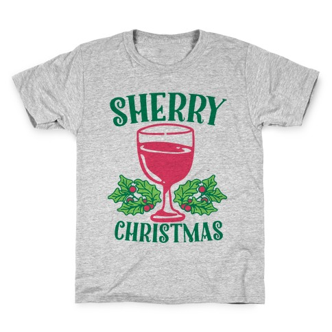 Sherry Christmas Kids T-Shirt