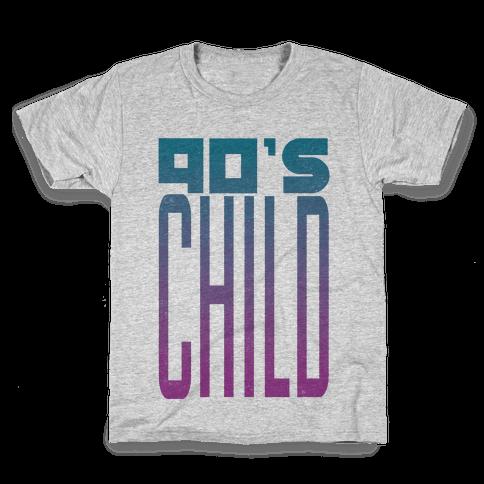 90's Child Kids T-Shirt