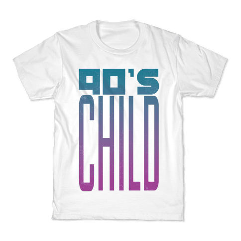 90's Child Kids T-Shirt