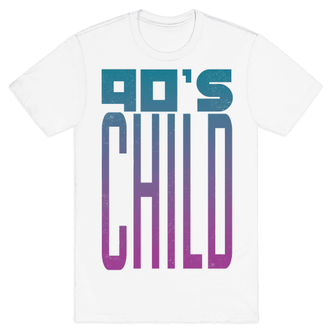 90's Child Mens T-Shirt