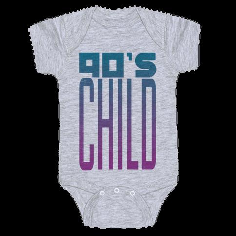 90's Child Baby Onesy