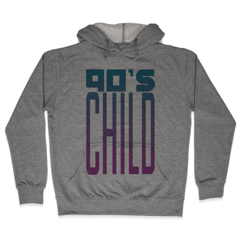 90's Child Hooded Sweatshirt