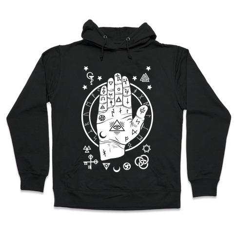 Occult Hand Hooded Sweatshirt