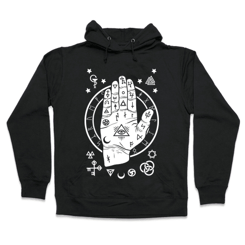 Occult Hand Hooded Sweatshirt