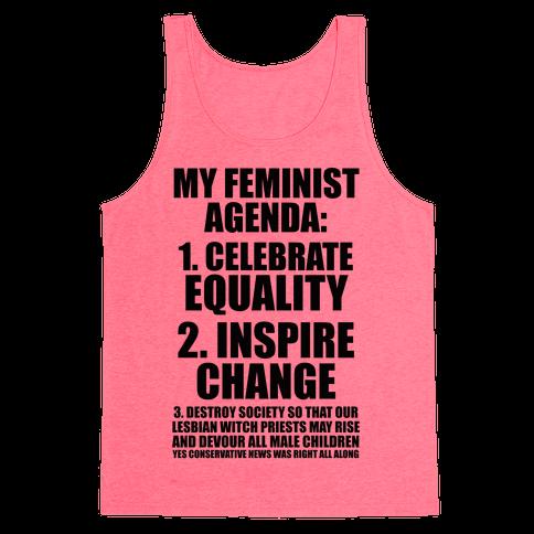 My Feminist Agenda Tank Top