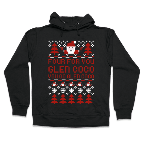 Ugly Sweater Glen Coco Hooded Sweatshirt