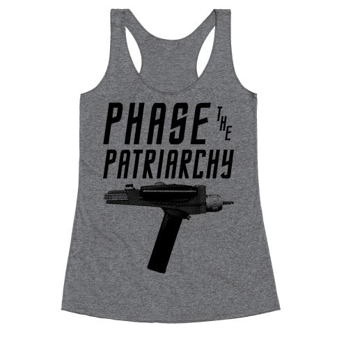 Phase The Patriarchy Racerback Tank Top